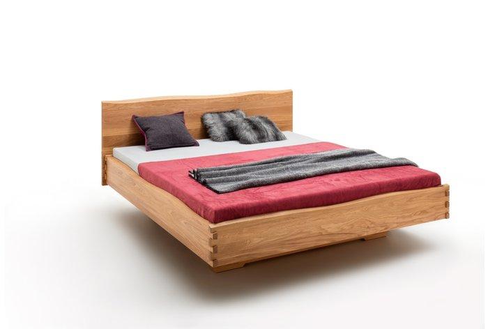 Massief houten bed Luik (hout: wildeiken)