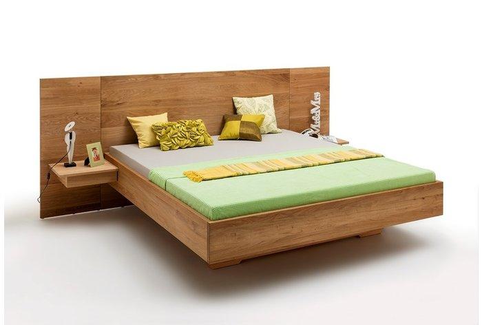 Massief houten bed Leuven (hout: wildeiken)
