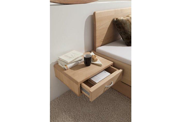 Tegen meerprijs aanhang nachtkastje verkrijgbaar