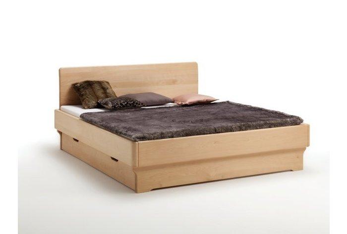 Massief houten bed Wassenaar (hout: beukenhout, geolied)