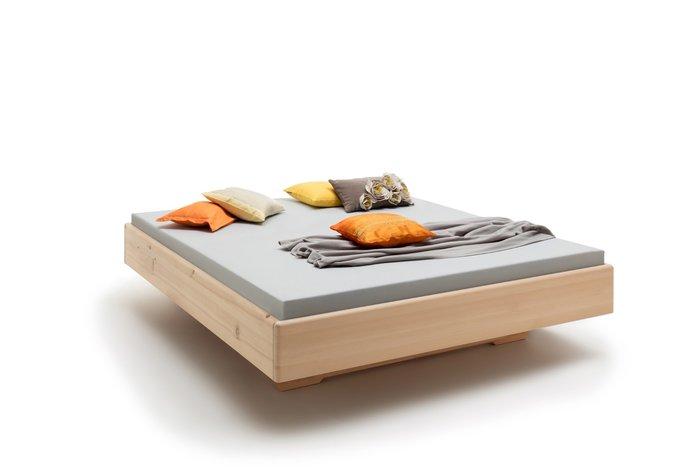 Massief houten bed Belluna (hout: zirben / alpenden / zirbe)