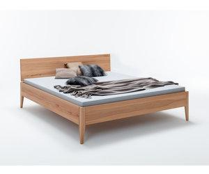 Minimalistisch Kernbeuken Bed In Scandinavische Stijl Lund Massief Houten Bed