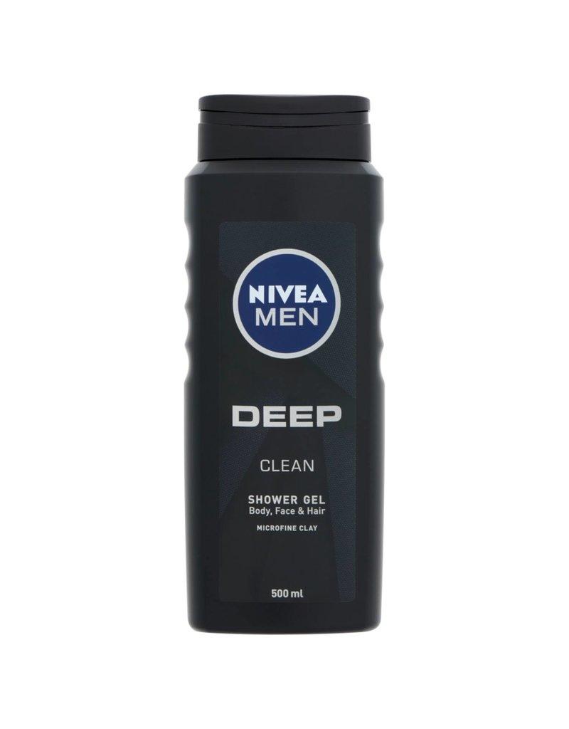 Nivea NIVEA Men Showergel Deep Clean 500ml