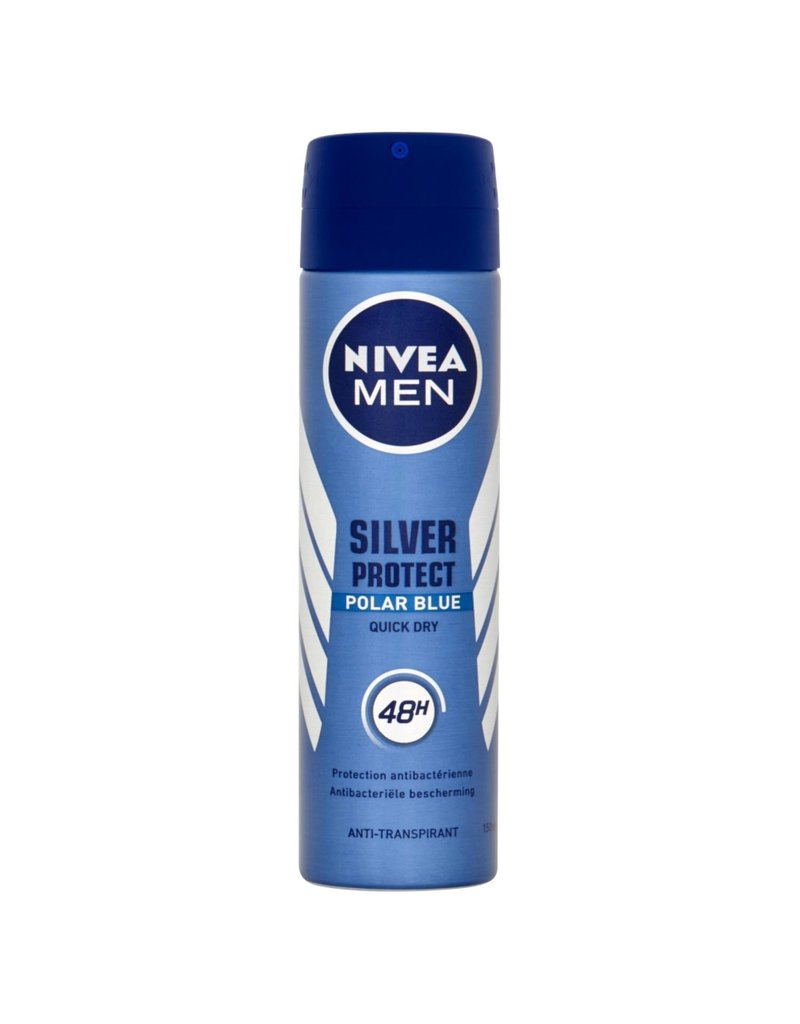 Nivea NIVEA Deodorant Spray Silver Protect Polar Blue Nivea Men