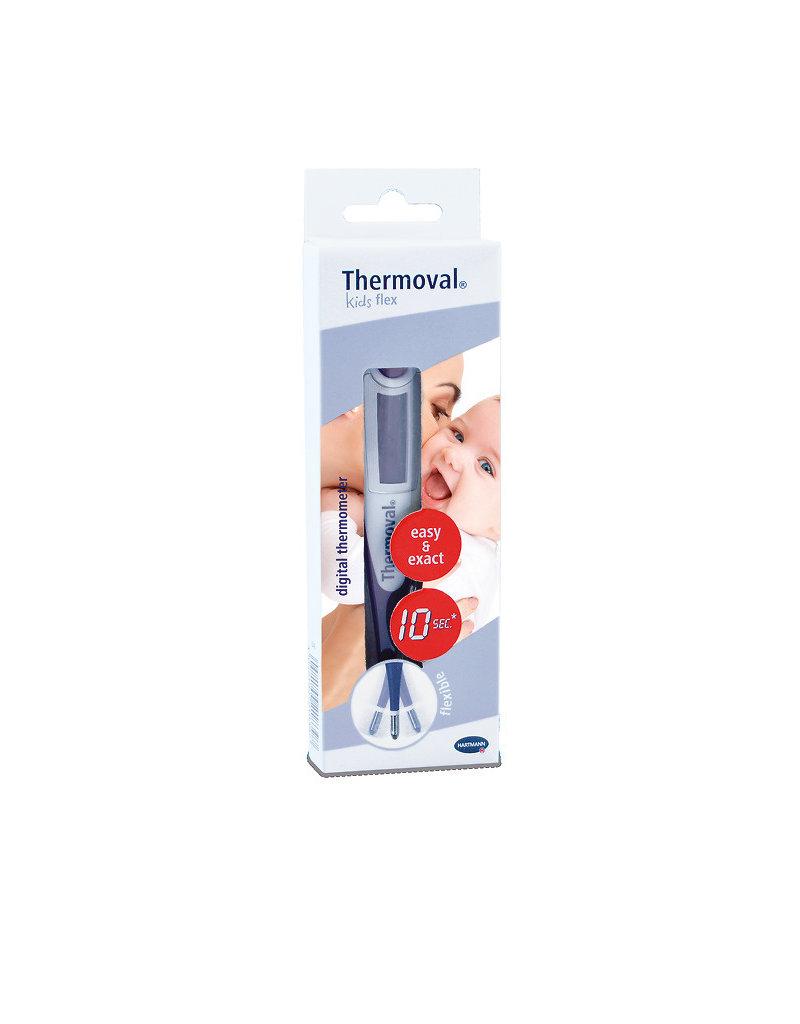Thermoval Spécialement adapté à la mesure rectale, il convient également pour les mesures axillaires ou orales.
