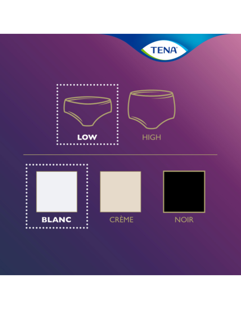 Tena TENA Silhouette Normal Low Waist Blanc