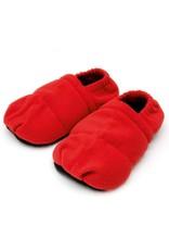 Sissel SISSEL® LINUM RELAX COMFORT - rouge - 41-45 Chaussons de chaleur naturelle (graines de lin)Avec parfum relaxant de lavande