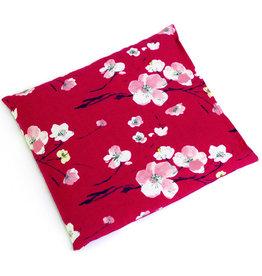 Sissel SISSEL® CHERRY – 23 x 26 cm - motif fleurs Coussin de noyaux de cerises