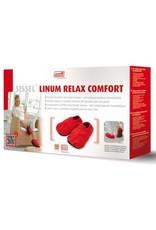 Sissel SISSEL® LINUM RELAX COMFORT - rood - 41-45 Natuurlijke warmtepantoffols met lijnzaadvullingMet ontspannende lavendelgeur