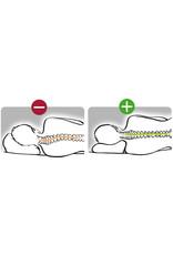 Sissel SISSEL® CLASSIC PLUS Oreiller orthopédique + taie en velours