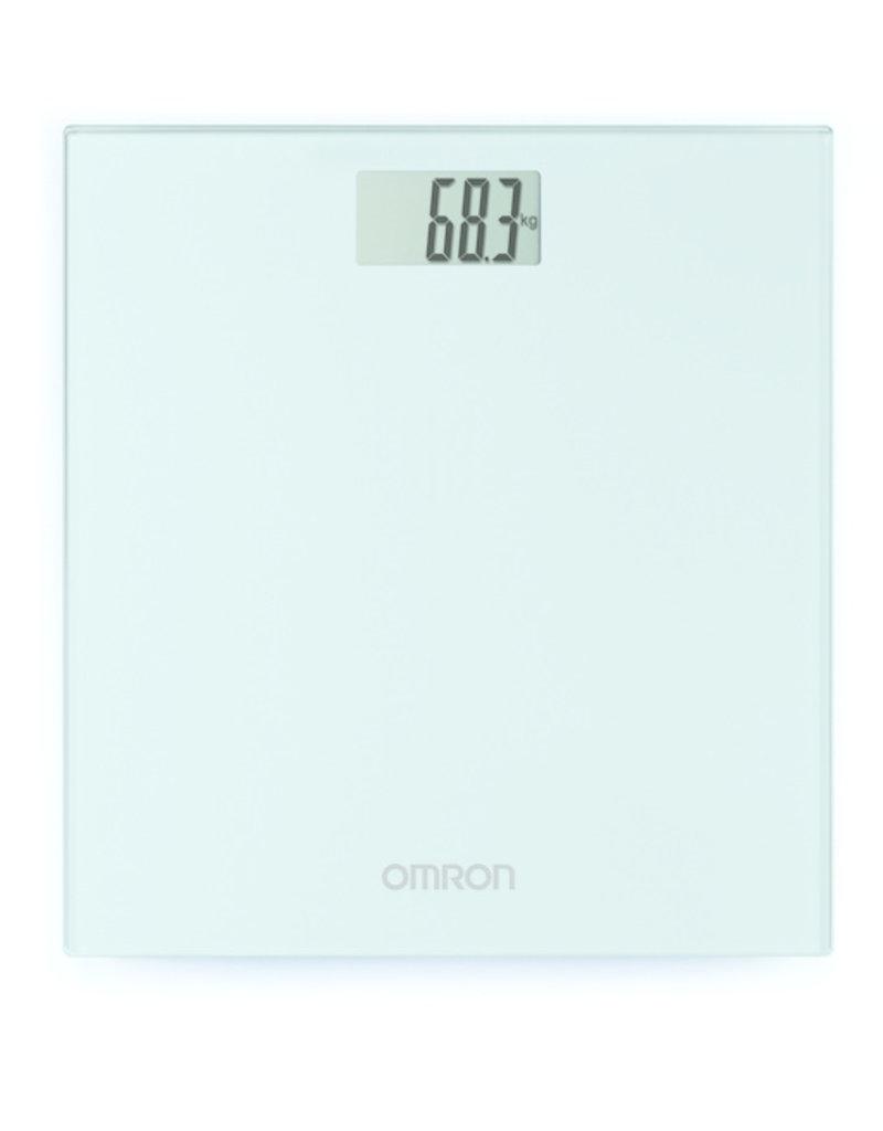 Omron Weeg uzelf in stijl met de HN289 digitale personenweegschaal.