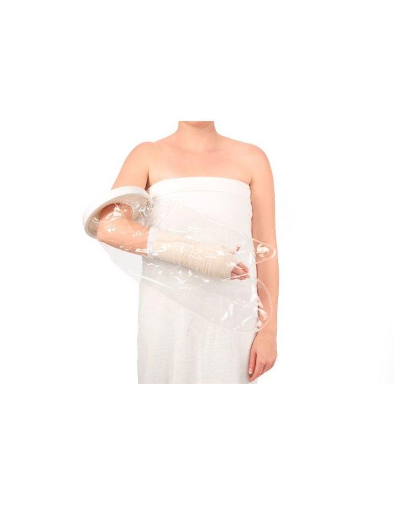 Vitility Protecteur de douche étanche - demi-bras
