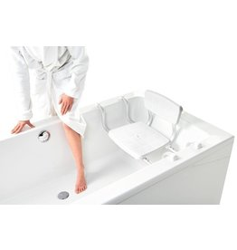 Vitility Siège baignoire - ajustable avec dossier