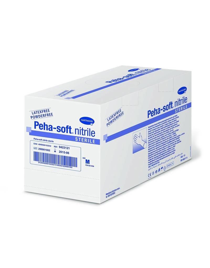 PEHA-SOFT Peha-Soft nitrile stérile 50 pr