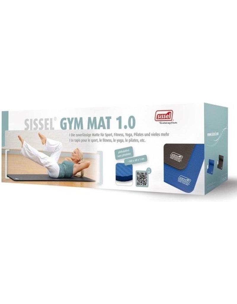 Sissel SISSEL® GYM MAT – blauw 180 x 60 x 1,0 cm
