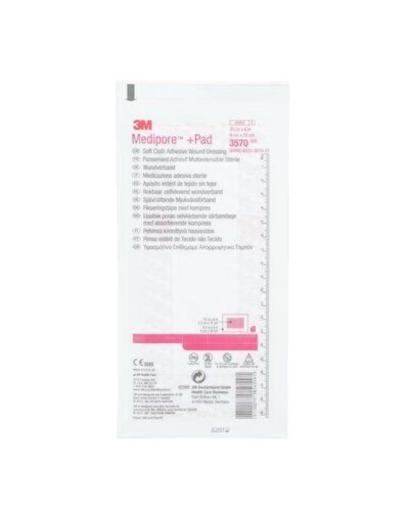 3M 3M™ Medipore™ +Pad - Adhesief wondverband