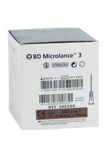 BD Microlance BD – aiguilles intra-dermiques – boîte de 100 pièces