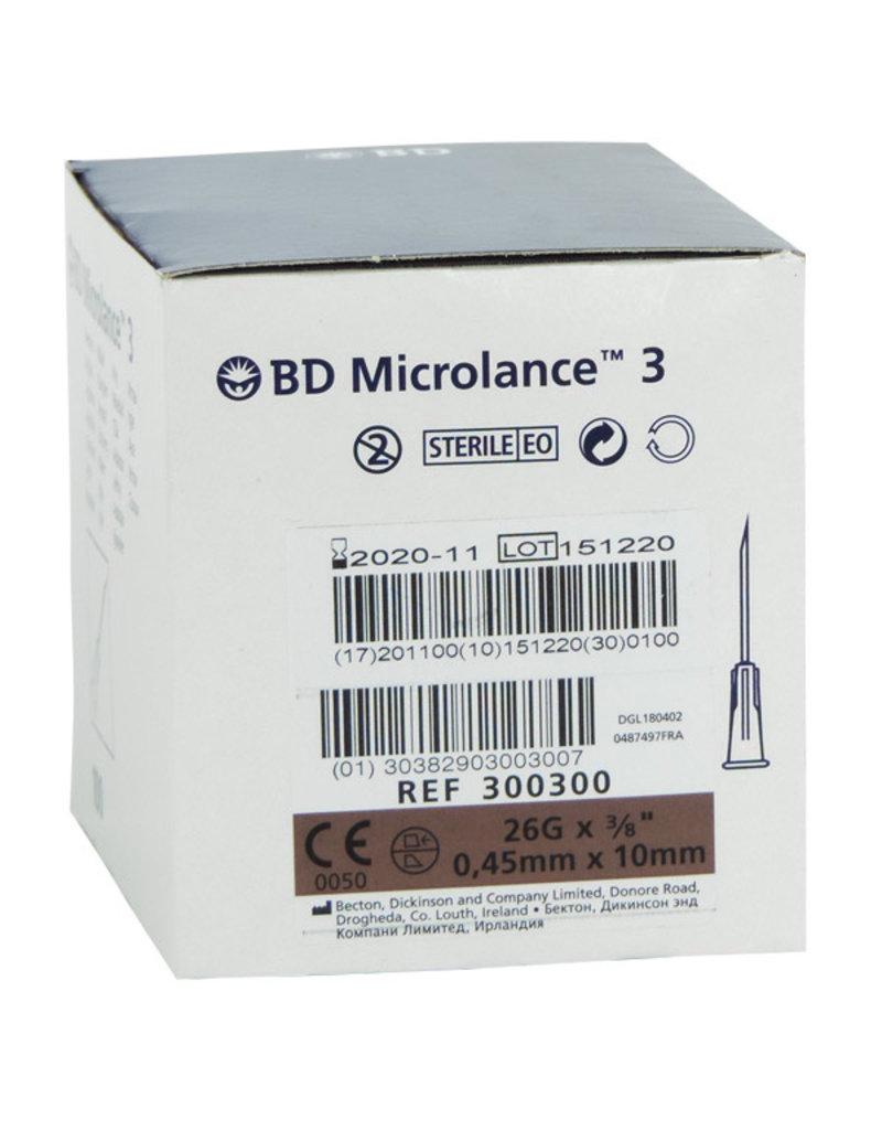 BD Microlance BD – intradermale naalden – doos van 100 stuks