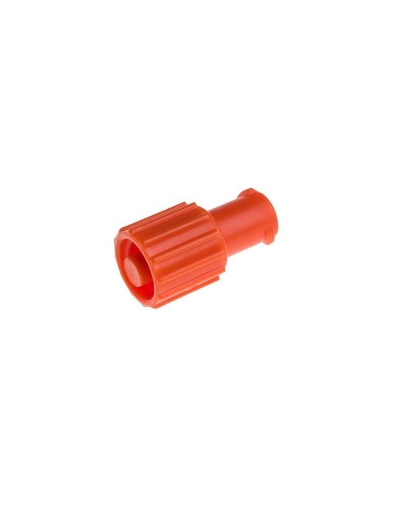 BD BD afsluitdop luer-lok met bescherming male/female oranje (100 stuks)