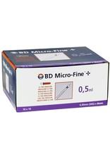 BD Seringues pour insuline BD Micro-Fine™  100pcs