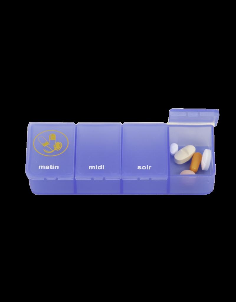 Able2 Pilulier 1 semaine - 3 compartiments /4 compartiments