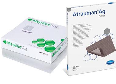 Pansements hydrocellulaires antimicrobien