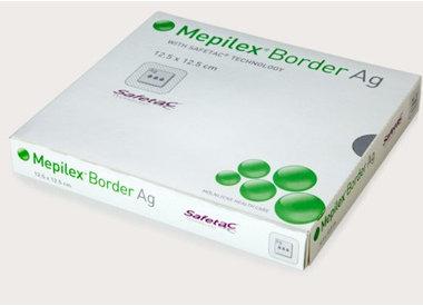 Pansements hydrocellulaires adhésifs antimicrobien