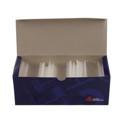 Riddersporen Avery Dennison polypropeen - Standaard - 65 mm á 5000 stuks - Wit