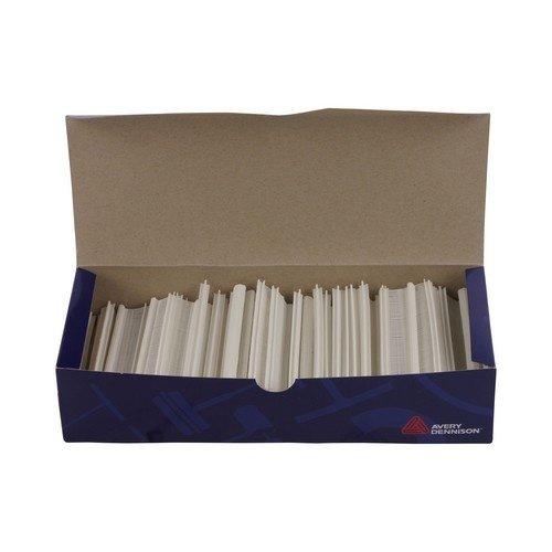 Riddersporen Avery Dennison nylon - Fijn - 14 mm á 10.000 stuks - Wit
