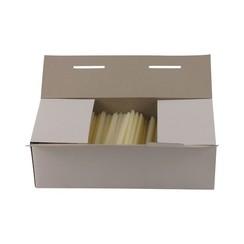 Riddersporen nylon - Standaard - 15 mm á 5000 stuks - Wit