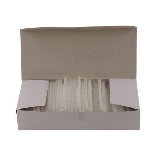 Riddersporen polypropeen - Standaard - 40 mm á 5000 stuks - Wit