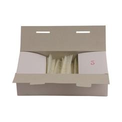 Riddersporen nylon - Fijn - 15 mm á 5000 stuks - Wit