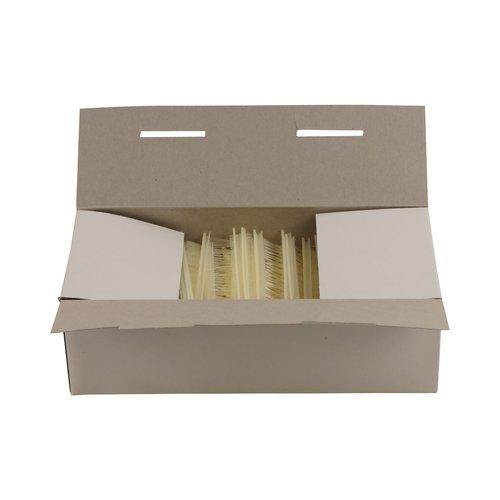 Riddersporen nylon - Fijn - 20 mm á 5000 stuks - Wit