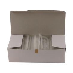 Riddersporen polypropeen - Fijn - 50 mm á 5000 stuks - Wit