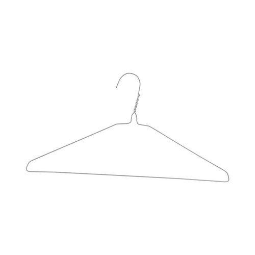 Draadhangers S-vorm - wit gepoedercoat - ø 3,00 mm - 300 stuks