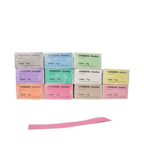 Merkstrepen 120x20 mm - ca 3500 stuks - In verschillende kleuren