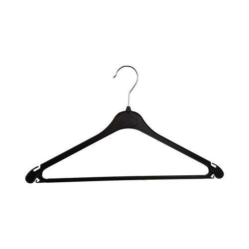 Mainetti kledinghangers - Zwart kunststof met anti slip - 275 stuks