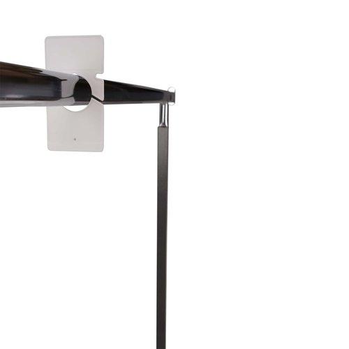 Maataanduider - 134x70 mm - Wit - Per stuk