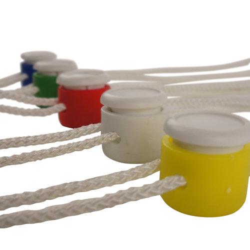 Koord met een dimo-sluiting - 60 cm - In 5 kleuren