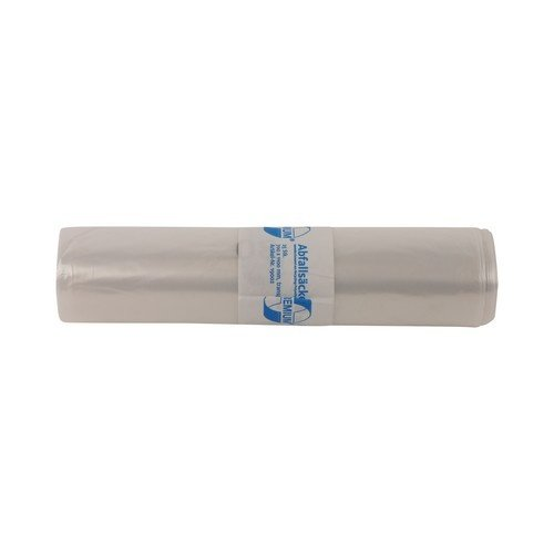 Transparante vuilniszak - 120 liter - 70x110 cm - rol á 25 stuks