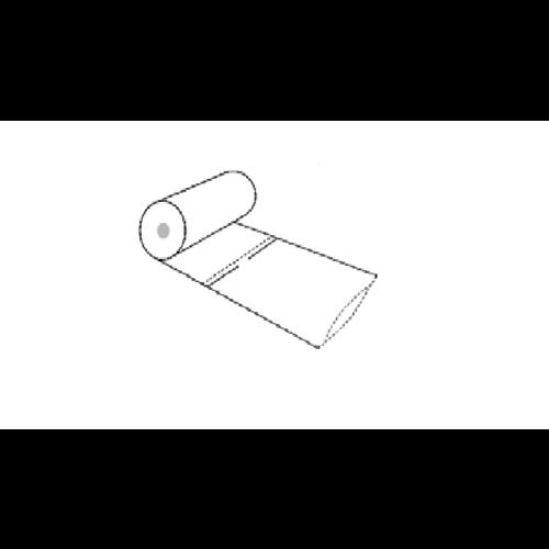 Buisfolie | 56 x 90 cm | 2 x 9 cm hoog | 500 stuks 15 mμ