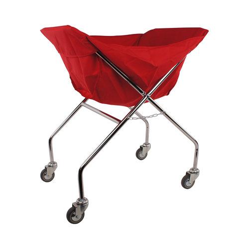 Kledingzak polyester voor klapwagen | Rood