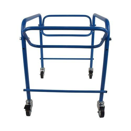 Transportwagen 60x40 cm - Voor kunststof bakken in blauw, bruin en wit