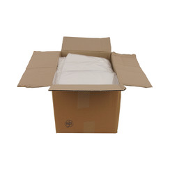 Transparante kleding zakken | 47 x 90 cm + 2 x 8 cm | 500 stuks