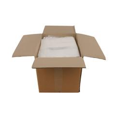 Transparante kleding zakken | 50 x 90 cm + 2 x 15 cm | 500 stuks