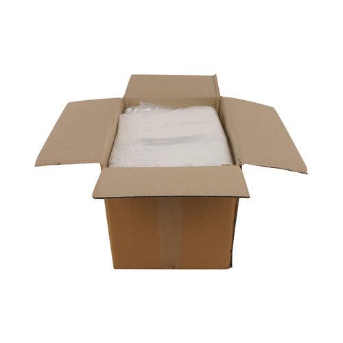Transparante kleding zakken   50 x 90 cm + 2 x 15 cm   500 stuks 30 mμ