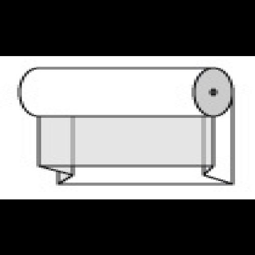 Buisfolie + 2 x 9 cm hoog | 500 meter lang | 56 cm breed