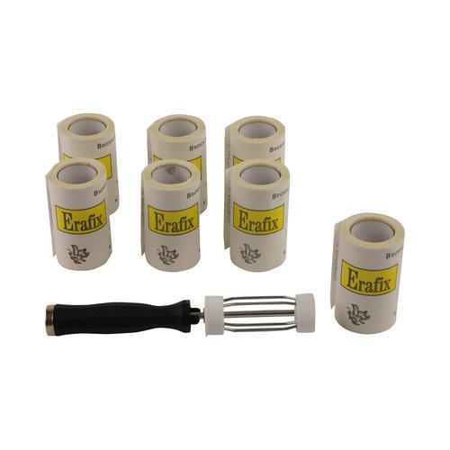HJS Kledingrollers met handvat - 7 stuks - Erafix