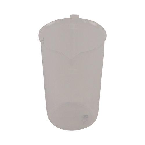 Maatbeker met schenktuit - 500 ml - Voor waspoeder en chemicaliën