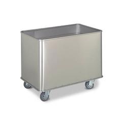 Veerbodemwagen inclusief stootrand 30 kg | 230 liter
